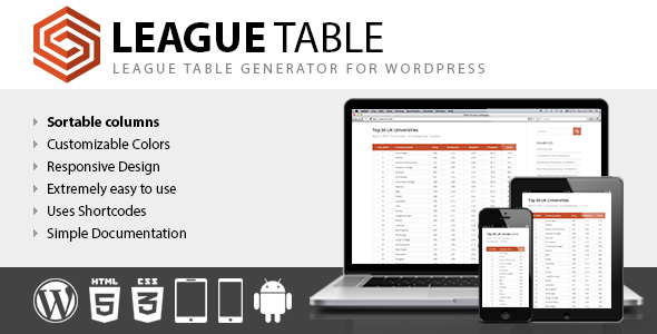 08-Liga-Tabelle-plugin-wordpress-Seitenleiste