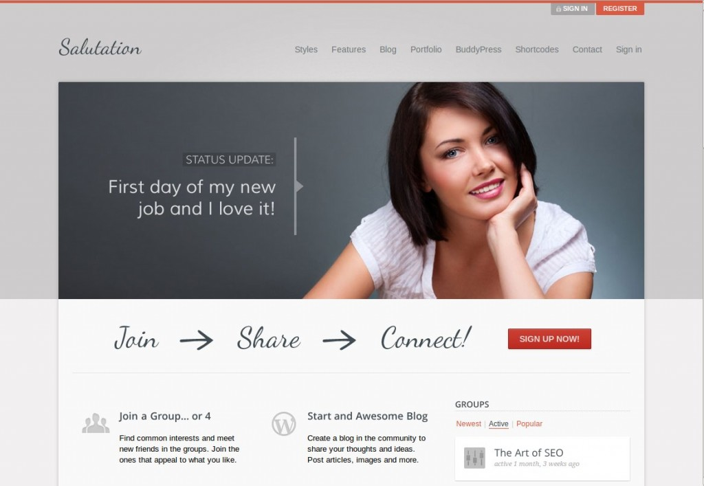 12-salutation-themes-bbpress-wordpress