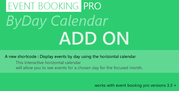 18-Event Booking Pro: Calendar BYDAY-plugin-wordpress-aufgenommen-Termin